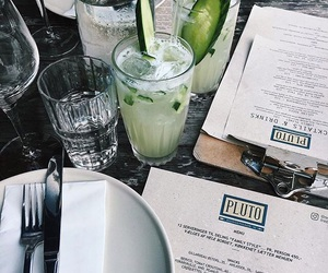 drink, food, and restaurant image