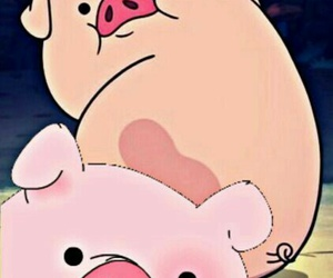 pig, background, and pato image