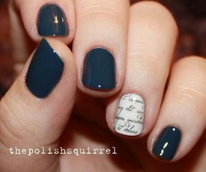 nails, minimalist, and nail art image