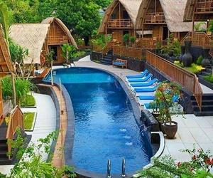 cabins, luxury, and paradise image