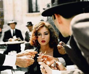 cigarette, woman, and malena image