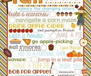 autumn, fall, and bucket list image