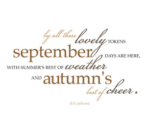 September and hello september image