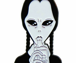 alien and wednesday image