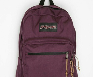 backpack, bag, and burgundy image