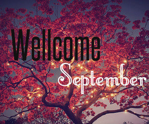 September, autumn, and welcome image