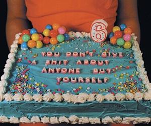 cake, birthday, and grunge image