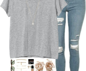 blue jeans, fashion, and ootd ideas image