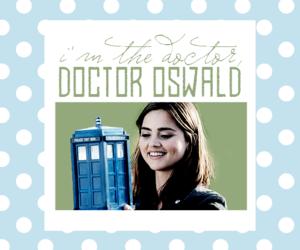 doctor who, clara oswald, and jenna coleman image