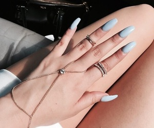 accessories, blue, and rings image