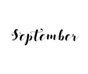calligraphie, September, and word image