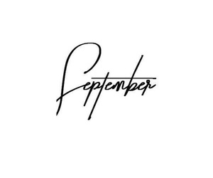 September, word, and septembre image