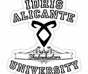 idris, shadowhunters, and alicante university image