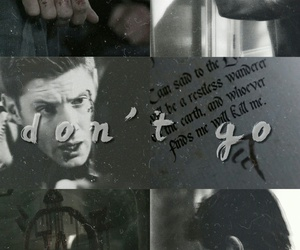 dean winchester, demon, and edit image