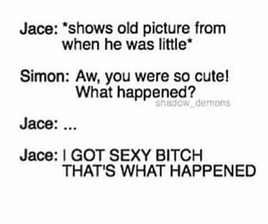 jace wayland, simon lewis, and shadowhunters image