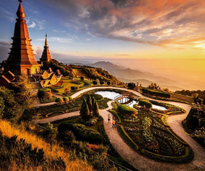 thailand, beautiful, and landscape image
