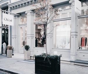 chloe, white, and shop image