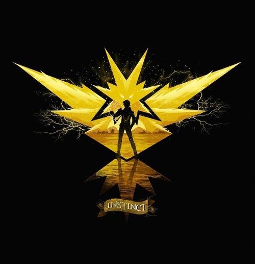 instinct, pokemon, and yellow image