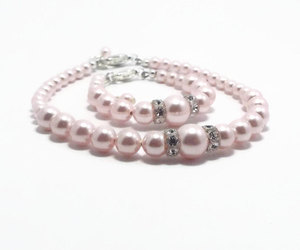 etsy, matching jewelry, and baby pearl bracelet image