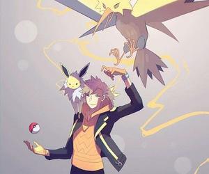pokemon go, pokemon, and jolteon image