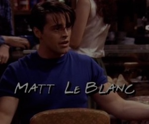friends and matt le blank image