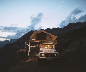 car, nature, and wanderlust image