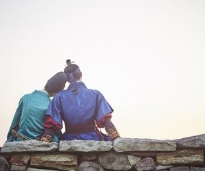 love in the moonlight, moonlight drawn by clouds, and korean image