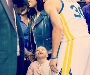 curry, family, and NBA image