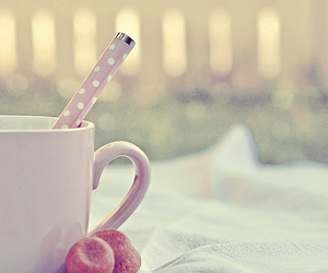 cup, pastel, and pink image