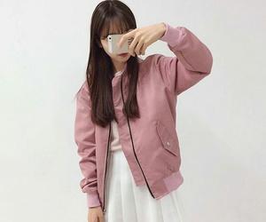 dress, pink, and fashiongirl image