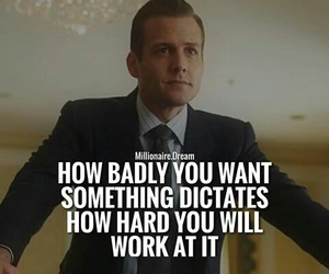 quotes, suits, and work image