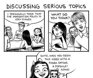 funny, c-cassandra, and comic image