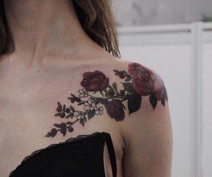 awesome, rose, and Tattoos image