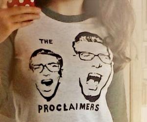 band, folk, and shirt image