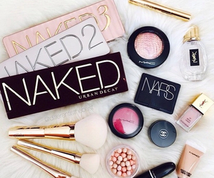 beauty, naked, and makeup image