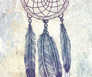 Dream, dreamcatcher, and drawing image