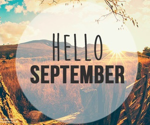 September and month image