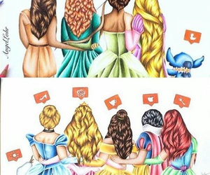 disney, instagram, and princess image