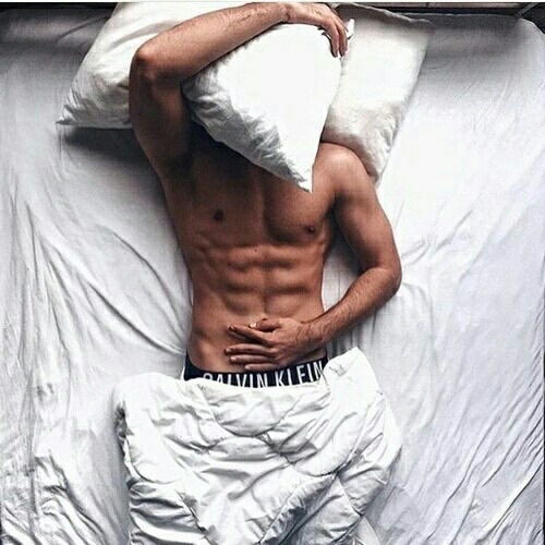 boy, body, and bed image