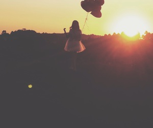 balloon, colors, and Dream image