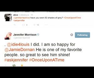 Jamie Dornan, Jennifer Morrison, and dakota johnson image