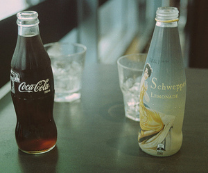 coca cola, coke, and lemonade image