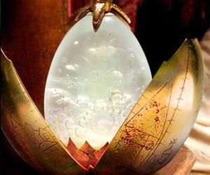 harry potter, egg, and goblet of fire image