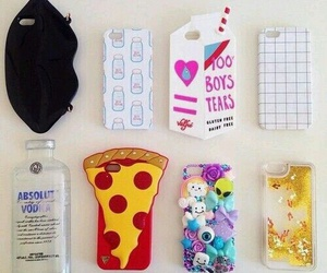 case, pizza, and iphone image