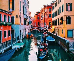 venice, travel, and colorful image