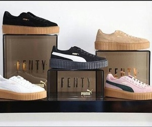 puma, rihanna, and shoes image
