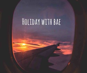 airplane, babe, and bae image