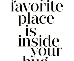 hug, favorite place, and love image
