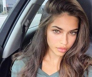 girl, beauty, and hair image