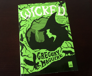 book, wicked, and elphaba image